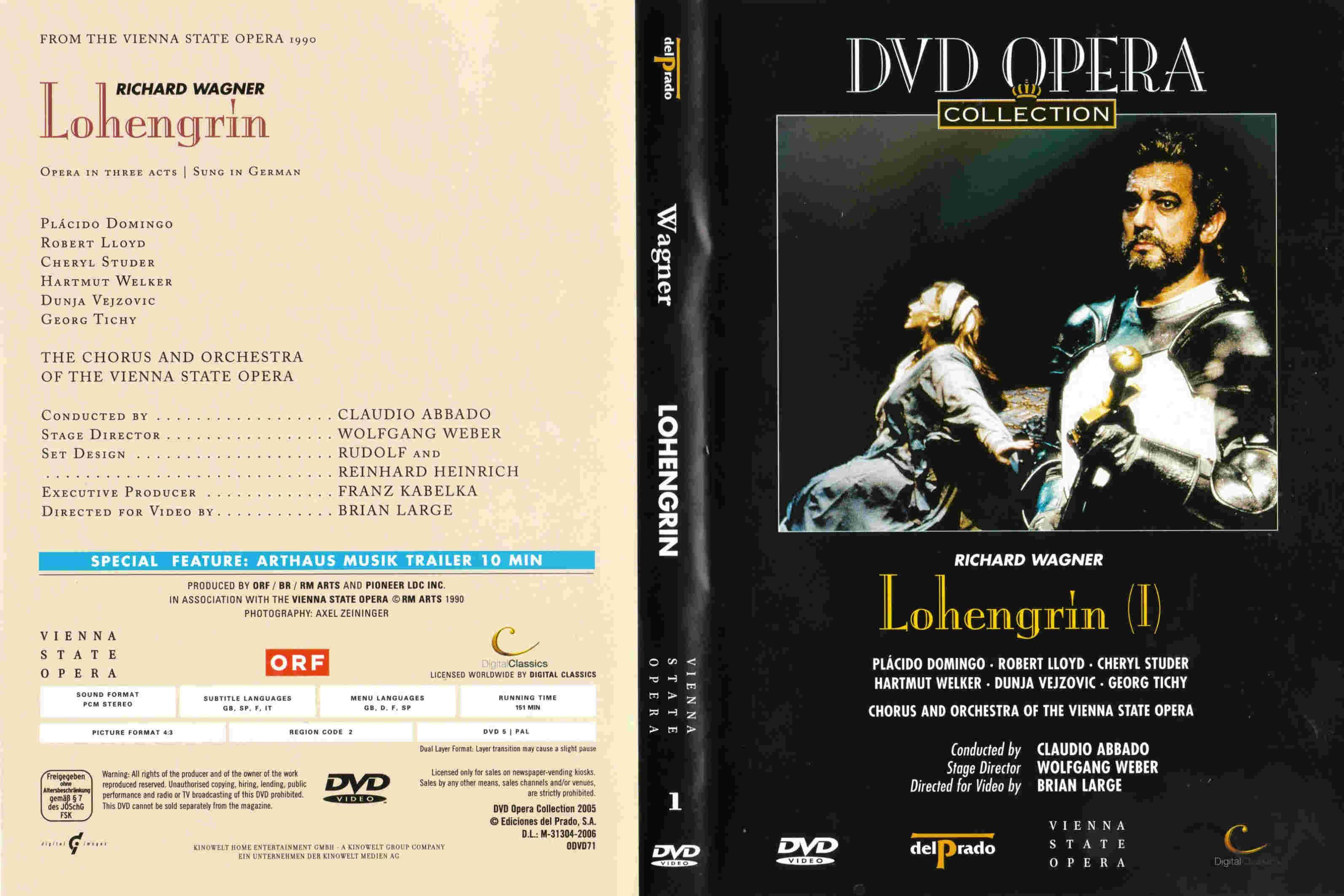 Lohengrin 1990 01 28 Abbado Wien Wagner Discography