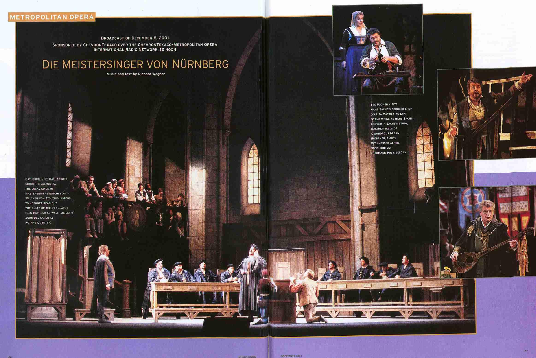 Meistersinger Von Nürnberg 2001-12-08 Levine New York